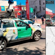 Carro do Google Street View é flagrado nas ruas de Itupeva, SP