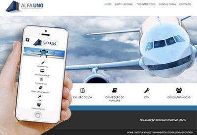 Alfa Uno - Aviação Civil