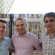 Tarsis Toschi (JHT Solutions), Reges Donatti Filho (Presidente da ACE Jundiaí) e Jailton Toschi (JHT Solutions)