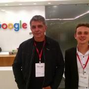 JHT em visita ao Google-SP