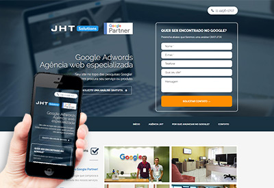 JHT - Agência Web Especializada Google Adwords